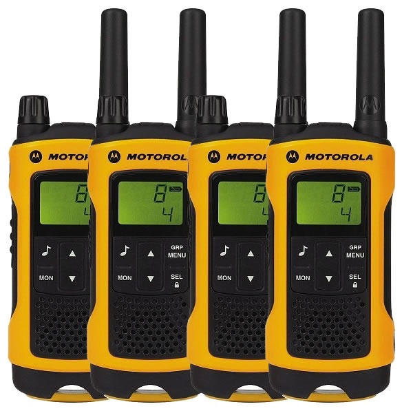 Pack Cuarteto Motorola TLKR T80 Extreme