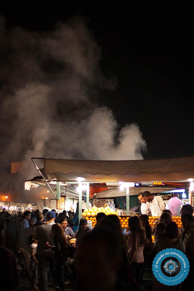 humo comida